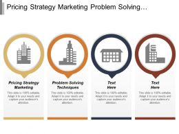 Pricing Strategy Marketing Problem Solving Techniques Productivity Enhancement