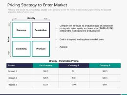 Pricing Strategy To Enter Market M3308 Ppt Powerpoint Presentation Styles Influencers