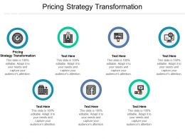 Pricing Strategy Transformation Ppt Powerpoint Presentation Infographic Template Files Cpb