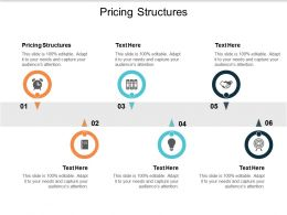 Pricing Structures Ppt Powerpoint Presentation Portfolio Templates Cpb