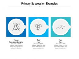 Primary Succession Examples Ppt Powerpoint Presentation Infographic Template Design Ideas Cpb