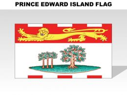 Prince Edward Island Country Powerpoint Flags