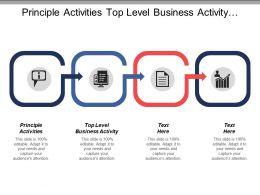 Principle Activities Top Level Business Activity Process Identify