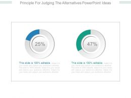 Principle For Judging The Alternatives Powerpoint Ideas