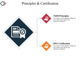 Principles And Certification Powerpoint Slide Background
