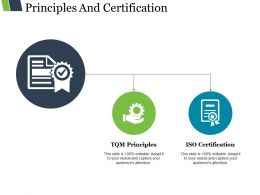 Principles And Certification Powerpoint Slide Themes