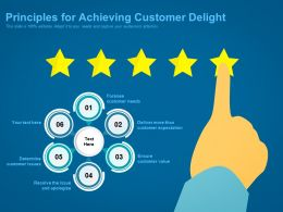 Principles For Achieving Customer Delight