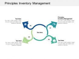 Principles Inventory Management Ppt Powerpoint Presentation Icon Graphics Example Cpb