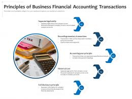 Principles Of Business Financial Accounting Transactions