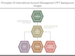 Principles Of International Account Management Ppt Background Images