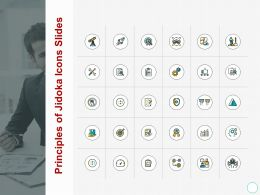 Principles Of Jidoka Icons Slides Growth A433 Ppt Powerpoint Presentation Pictures Slides