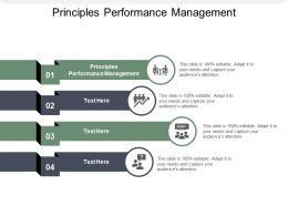 Principles Performance Management Ppt Powerpoint Presentation Styles Microsoft Cpb