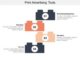 Print Advertising Tools Ppt Powerpoint Presentation File Graphic Images Cpb