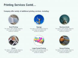 Printing Services Contd Ppt Powerpoint Presentation Summary Example
