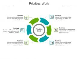 Priorities Work Ppt Powerpoint Presentation Icon Example Topics Cpb