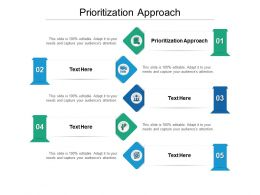 Prioritization Approach Ppt Powerpoint Presentation Ideas Guidelines Cpb