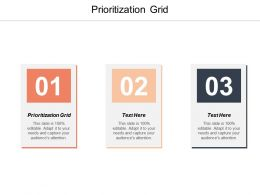 Prioritization Grid Ppt Powerpoint Presentation Icon Pictures Cpb