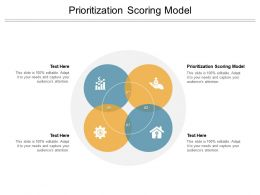 Prioritization Scoring Model Ppt Powerpoint Presentation Infographic Slides Cpb