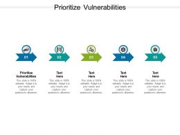 Prioritize Vulnerabilities Ppt Powerpoint Presentation Styles Slideshow Cpb