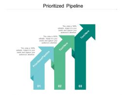 Prioritized Pipeline Ppt Powerpoint Presentation Show Example Topics Cpb