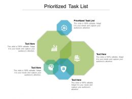 Prioritized Task List Ppt Powerpoint Presentation Icon Graphics Pictures Cpb