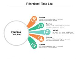 Prioritized Task List Ppt Powerpoint Presentation Pictures Mockup Cpb
