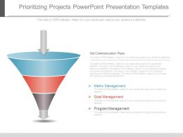Prioritizing Projects Powerpoint Presentation Templates