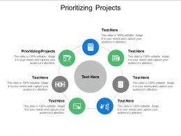 Prioritizing Projects Ppt Powerpoint Presentation Portfolio Skills Cpb