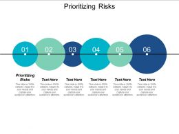 Prioritizing Risks Ppt Powerpoint Presentation Summary Examples Cpb