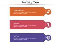 Prioritizing Tasks Ppt Powerpoint Presentation Ideas Styles Cpb