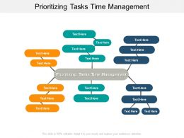 Prioritizing Tasks Time Management Ppt Powerpoint Presentation Professional Ideas Cpb