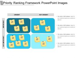 Priority Ranking Framework Powerpoint Images