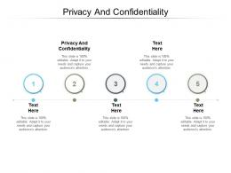Privacy And Confidentiality Ppt Powerpoint Presentation Summary Slide Cpb