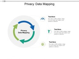 Privacy Data Mapping Ppt Powerpoint Presentation Infographics Graphics Pictures Cpb