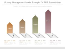 Privacy Management Model Example Of Ppt Presentation