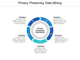 Privacy Preserving Data Mining Ppt Powerpoint Presentation Portfolio Deck Cpb