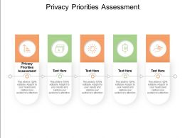 Privacy Priorities Assessment Ppt Powerpoint Presentation Summary Elements Cpb