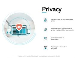Privacy Processes Management Ppt Powerpoint Presentation Gallery Good