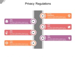 Privacy Regulations Ppt Powerpoint Presentation File Demonstration Cpb