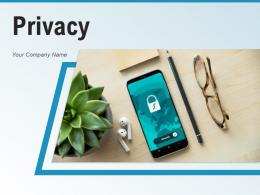 Privacy Technology Database Protection Organizations Information