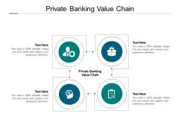 Private Banking Value Chain Ppt Powerpoint Presentation Model Graphics Design Cpb
