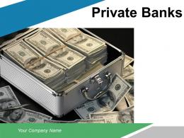 Private Banks Pyramid Service Features Dollar Sign Pillars Organization Structure Investment Specialist