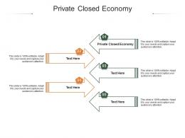 Private Closed Economy Ppt Powerpoint Presentation Infographic Template Elements Cpb