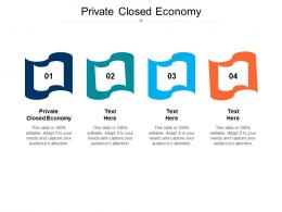 Private Closed Economy Ppt Powerpoint Presentation Professional Template Cpb