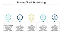 Private Cloud Provisioning Ppt Powerpoint Presentation Layouts Influencers Cpb