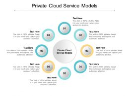 Private Cloud Service Models Ppt Powerpoint Presentation Gallery Pictures Cpb