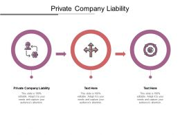 Private Company Liability Ppt Powerpoint Presentation Ideas Example File Cpb
