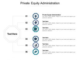 Private Equity Administration Ppt Powerpoint Presentation Show Elements Cpb