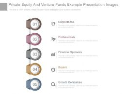 Private Equity And Venture Funds Example Presentation Images