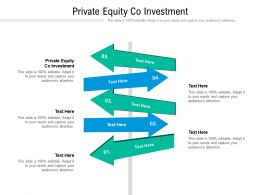 Private Equity Co Investment Ppt Powerpoint Presentation File Background Cpb